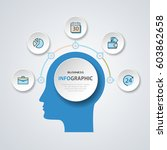 business infographics marketing ...   Shutterstock .eps vector #603862658