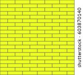 brickwork. colored abstract... | Shutterstock .eps vector #603870140