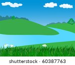 Landscape With River.vector...