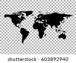 world map vector | Shutterstock .eps vector #603892940