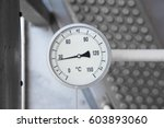temperature gage install with... | Shutterstock . vector #603893060