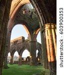 sweetheart abbey  scotland | Shutterstock . vector #603900353