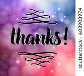 thank you phrase for social...   Shutterstock .eps vector #603903974