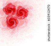 flower background | Shutterstock .eps vector #603912470