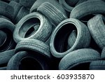Heap Of Old Tires  Background