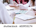 young business people in... | Shutterstock . vector #603953174