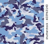 vector seamless pattern.... | Shutterstock .eps vector #603963140