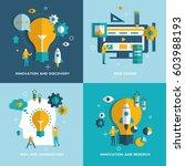 web design  idea and...   Shutterstock .eps vector #603988193