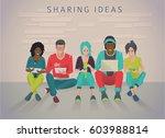 international multicultural...   Shutterstock .eps vector #603988814