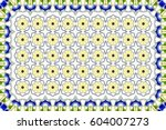 colorful horizontal pattern for ... | Shutterstock . vector #604007273