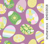 seamless multicolored pattern...   Shutterstock . vector #604010018