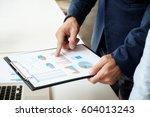 business concept. business... | Shutterstock . vector #604013243