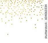 gold glitter background polka... | Shutterstock .eps vector #604063334