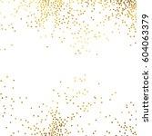 gold glitter background polka... | Shutterstock .eps vector #604063379