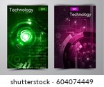 abstract technology background | Shutterstock .eps vector #604074449