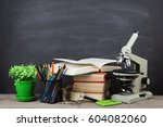 education concept   books and