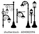 Street Lamp  Road Lights Vector ...