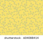 small flowers seamless pattern. ... | Shutterstock .eps vector #604088414
