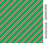 Seamless Christmas Stripe...