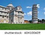 pisa tower | Shutterstock . vector #604100609