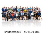 people crowd reflect | Shutterstock .eps vector #604101188