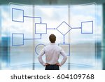 business process management and ... | Shutterstock . vector #604109768