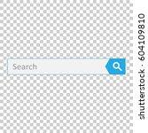 search bar field. vector...