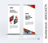 abstract business vector set of ... | Shutterstock .eps vector #604114274