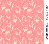 Seamless Vector Pink Pattern...