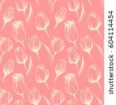 Seamless Vector Pink Pattern...