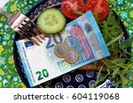 expensive lifestyle  high costs ... | Shutterstock . vector #604119068