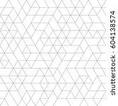 seamless black and white... | Shutterstock .eps vector #604138574