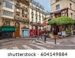 paris street  | Shutterstock . vector #604149884
