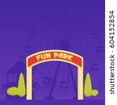 Entrance To The Amusement Park...