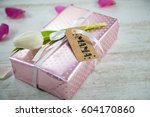 gift for mother's day or... | Shutterstock . vector #604170860