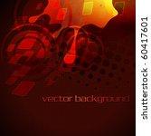 artistic stylish eps10 vector... | Shutterstock .eps vector #60417601
