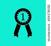 pictograph of award | Shutterstock .eps vector #604178330