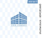 buildings icon for company | Shutterstock .eps vector #604181660