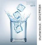 Transparent Vector Water Splas...