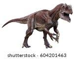 3d Rendering Of Allosaurus...