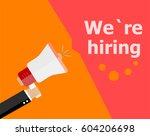 flat design business concept.... | Shutterstock . vector #604206698