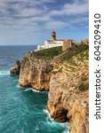 the cape st . vincent... | Shutterstock . vector #604209410