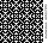 vector seamless pattern.... | Shutterstock .eps vector #604217393