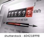 kilowatt hour electric meter ...