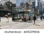 sao paulo  brazil   october 23  ...   Shutterstock . vector #604239836