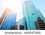 commercial buildings office...   Shutterstock . vector #604247300