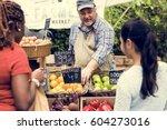 Greengrocer Selling Organic...