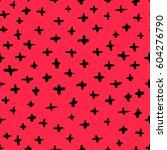 seamless vector abstract... | Shutterstock .eps vector #604276790