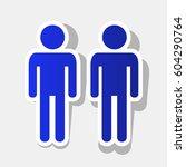 gay family sign. vector. new... | Shutterstock .eps vector #604290764