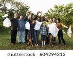 Diverse Group Of People Pick U...